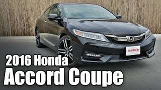 2016 Honda Accord Coupe Review - Quick Take