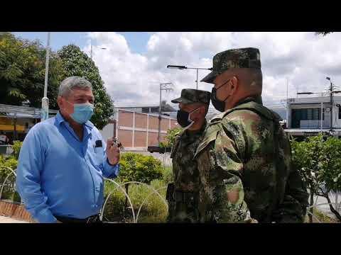 Periplo militar por municipios del Tolima