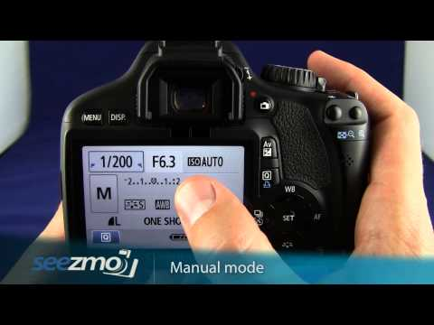 Canon Rebel T2i/550D: Manual Mode