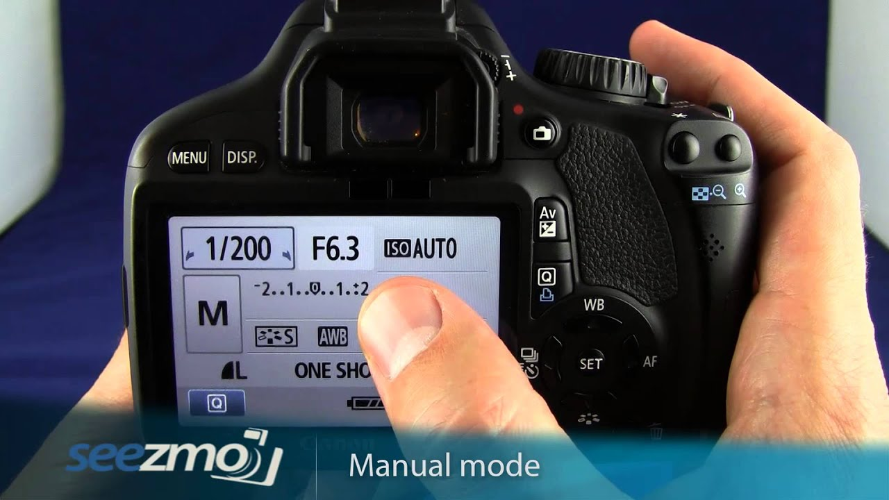 canon rebel t2i 550d manual mode youtube rh youtube com Canon EOS 550D SLR Canon EOS 550D SLR