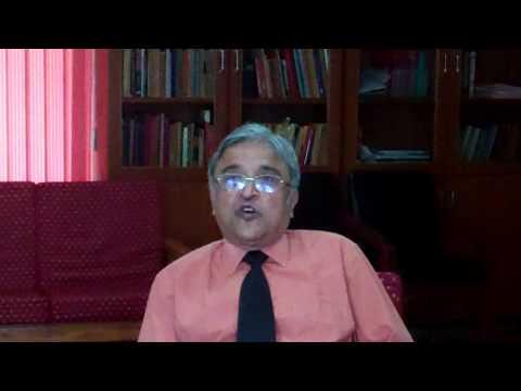 Professor Rajeeva Karandikar talks about life