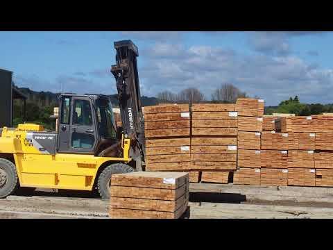 Optimising goods transport in the Eastern Bay of Plenty, New Zealand