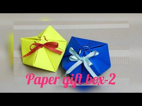 DIY paper gift box -2