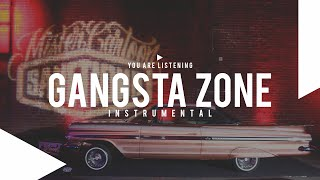 """Gangsta Zone"" - West Coast X Rap Underground Instrumental 2015 (Prod:Danny E.B)"