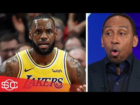 Stephen A. expected LeBron James to be more aggressive in Laker debut | SportsCenter