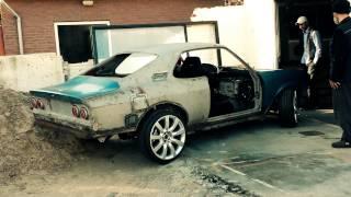 Driving The Opel Manta A STI Outside...