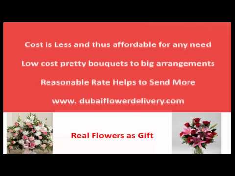 Dubai Flower Delivery Free of Extra Charges