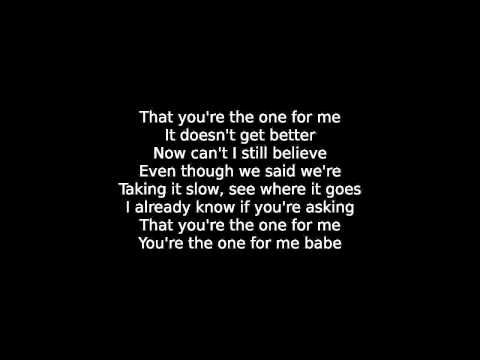 one for you and one for me lyrics