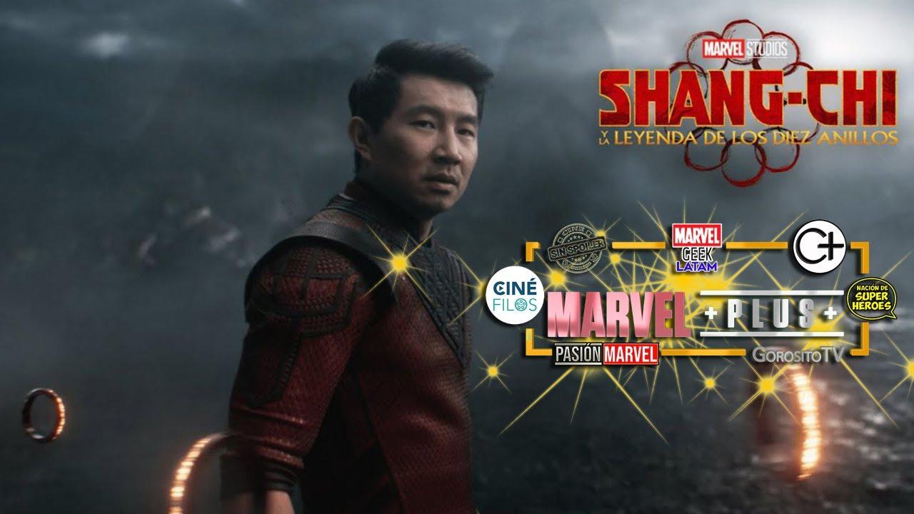 Shang Chi Y La Leyenda De Los 10 Anillos Comentario De La Pelicula En Vivo Marvel Plus Youtube