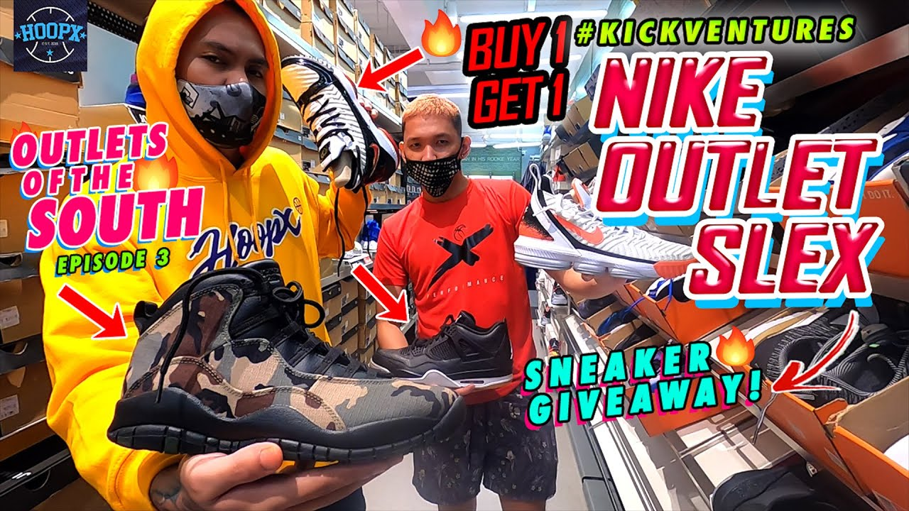 ANG DAMING AIR JORDAN SNEAKERS DITO SA NIKE FACTORY OUTLET SLEX (Outlets of the South EP. 3)