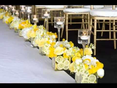 Wedding aisle decor ideas - YouTube