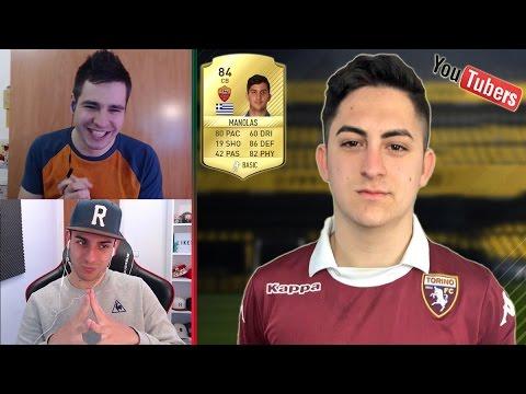 PARECIDOS RAZONABLES YOUTUBERS DE FIFA con Robert PG
