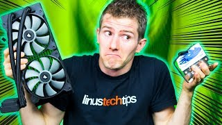 Can You Judge a CPU Cooler by its WEIGHT?