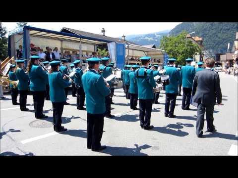 Feldmusik Hochdorf Jungfrau Show Parade 2012