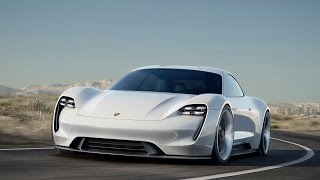 Porsche Mission E concept revealed at Frankfurt IAA 2015