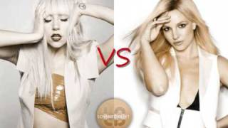 Britney Spears (Circus) vs Lady GaGa (Poker Face) - Circus Fac…