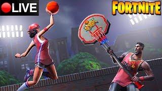 Fortnite LIVE-NEW BASKETBALL SKINS
