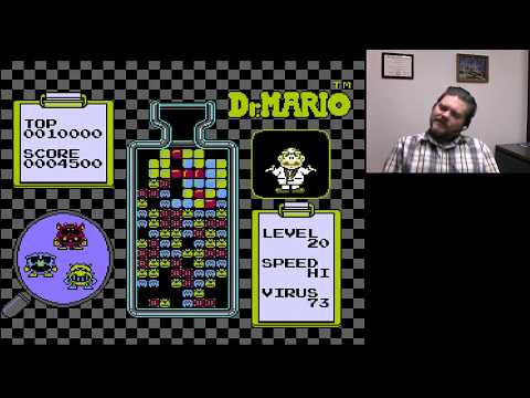 Dr. Mario Level 20 Hi   VGHI Play 'n' Chat Live Stream