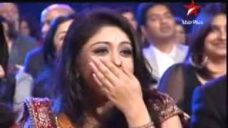 Nivedita won favorite Devrani award SPA 2011 3rd April