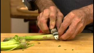 KQED: Essential Pepin Shorts, Ragout of Asparagus