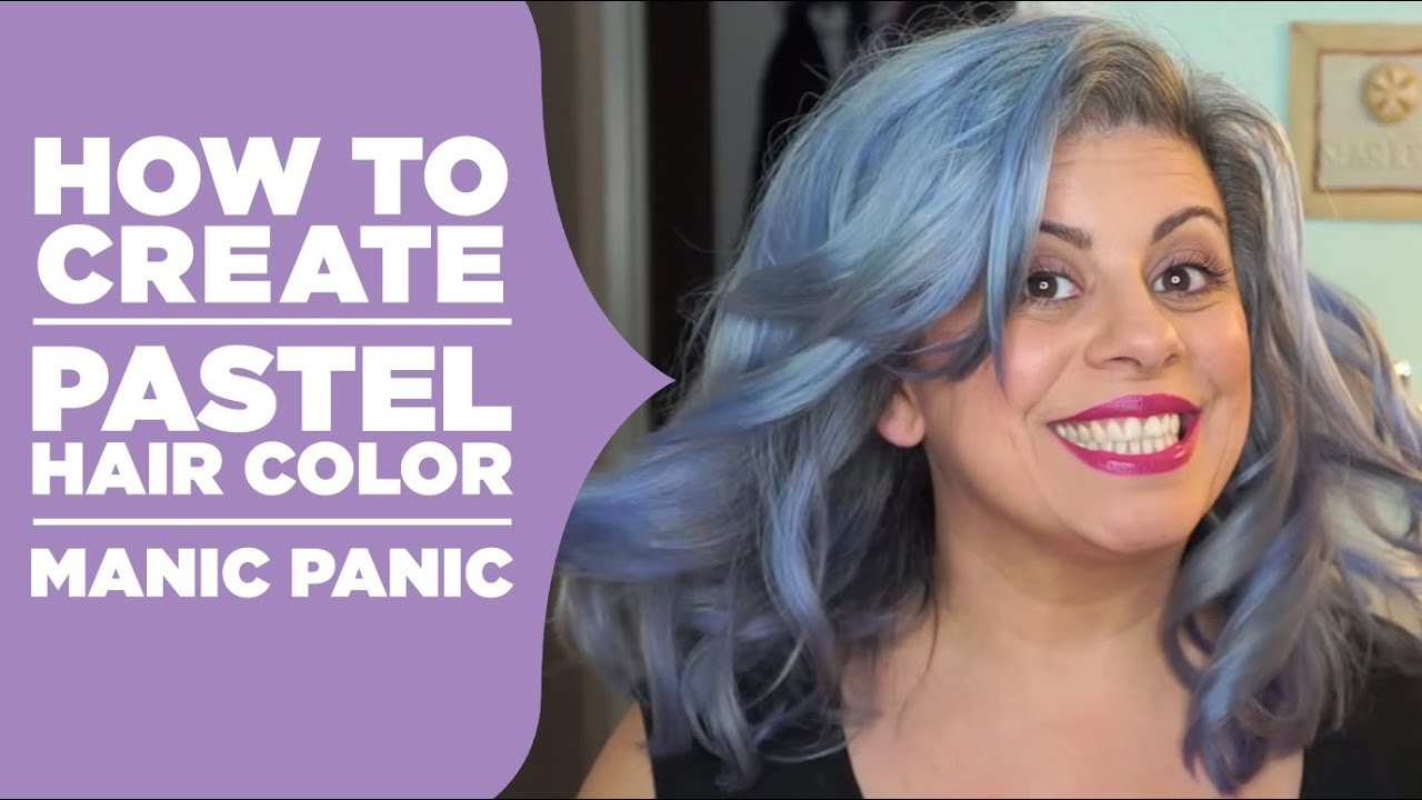 Manic Panic Purple Natural Hair