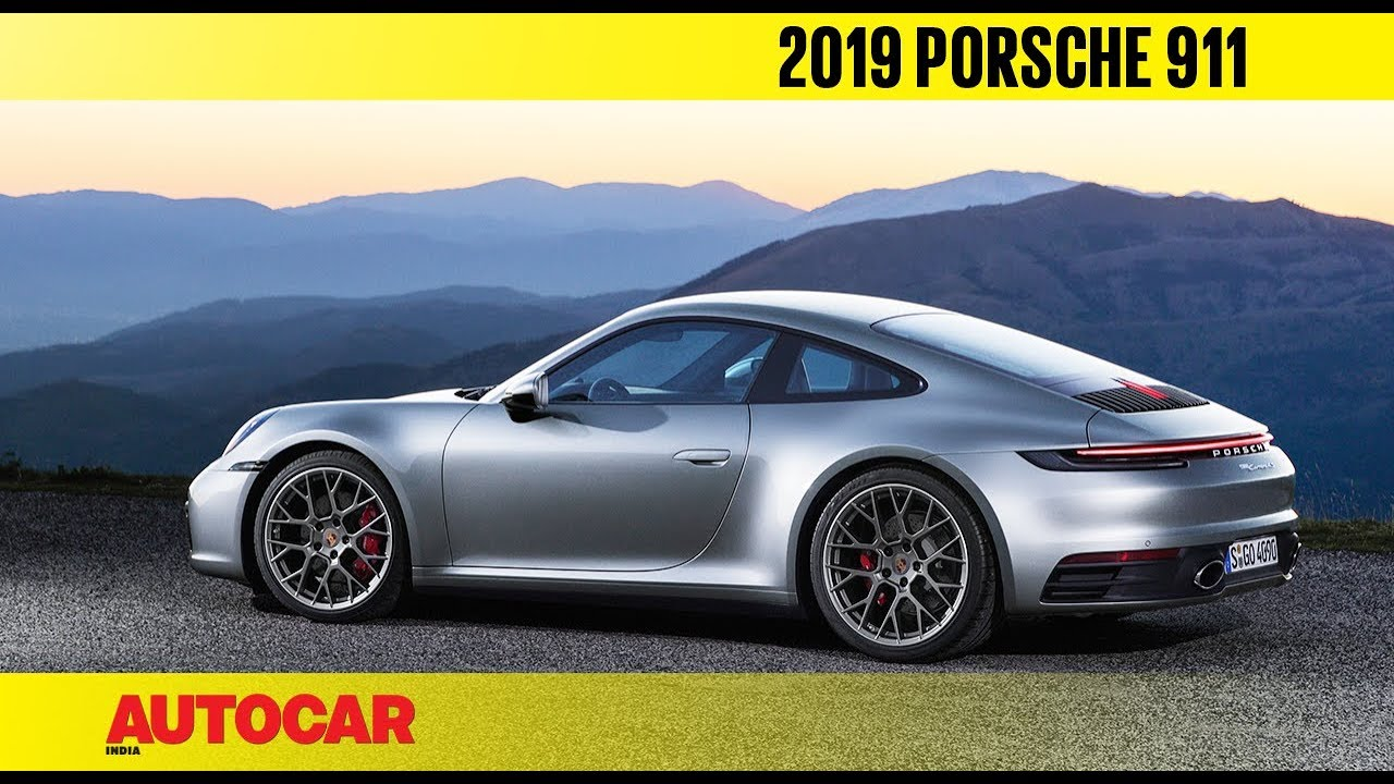 2019 porsche 911 what 39 s new first look preview. Black Bedroom Furniture Sets. Home Design Ideas