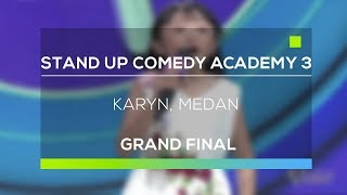 Video Stand Up Comedy Academy 3 : Karyn, Medan download MP3, 3GP, MP4, WEBM, AVI, FLV Oktober 2018