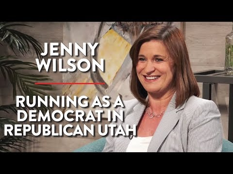 Running as a Democrat in Republican Utah (Jenny Wilson Inter