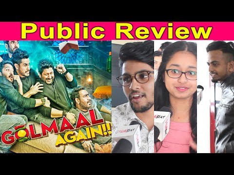 Golmaal Again Public Review | Ajay Devgan | Parineeti Chopra | | FilmiBeat
