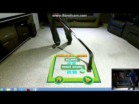 HOCKEY BIRD - Kinect based Augmented Reality Game