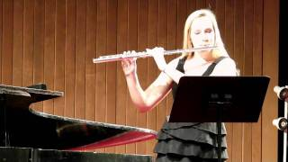 Meditation from Thais by Jules Massenet for solo flute and piano