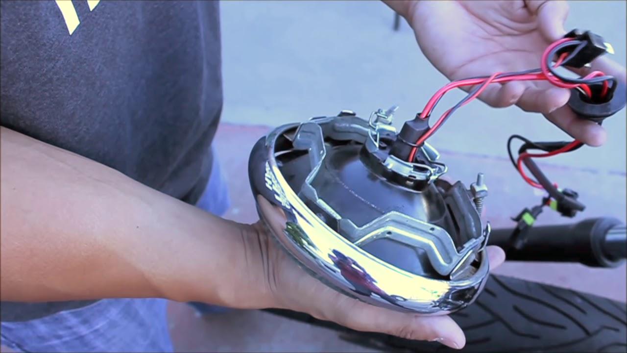 hight resolution of hidextra motorcycle hid installation
