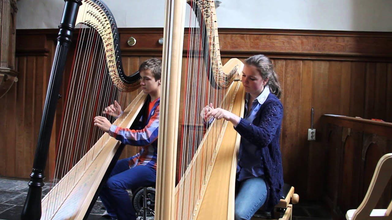 Pachelbels Canon In D Harp Duet