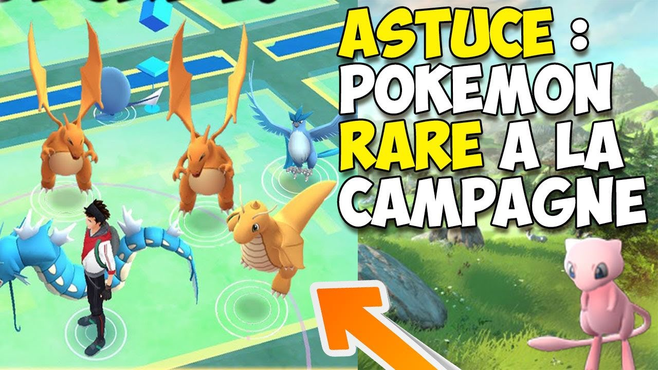Astuce pokemon go avoir des pokemon rare a la campagne youtube - Pokemon rare diamant ...