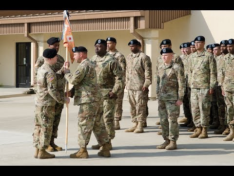 Alpha Change Of Responsibility - 1SG Skinner And 1SG Pearson