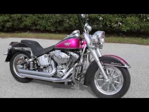 used custom pink harley davidson deluxe softail for sale tampa spring hill orlando daytona youtube. Black Bedroom Furniture Sets. Home Design Ideas