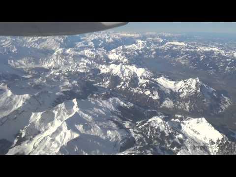Swiss International Airlines LX2902: Zurich - Lugano (Dash-8 Q400) [HD 1080p]