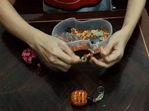 Hello guys,this time I will show my next video How to Make Beads Flowers. You can follow the steps.