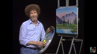 Resim Sevinci -The Joy of Painting with Bob Ross #1