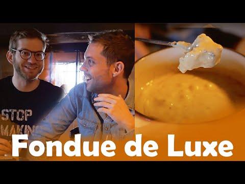 Fondue à 3€ VS Fondue de Luxe avec Thomas Wiesel en Suisse.