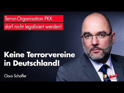 Claus Schaffer (AfD): Keine Terrorvereine in Deutschland!