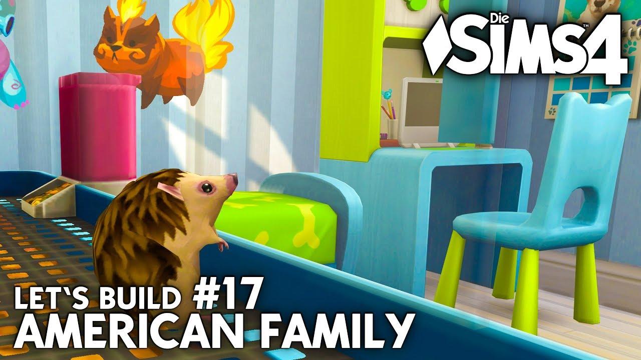 Die Sims 4 Haus Bauen American Family 17 Kinderzimmer Einrichten