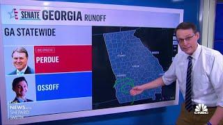 Steve Kornacki on Georgia Senate runoff exit polls