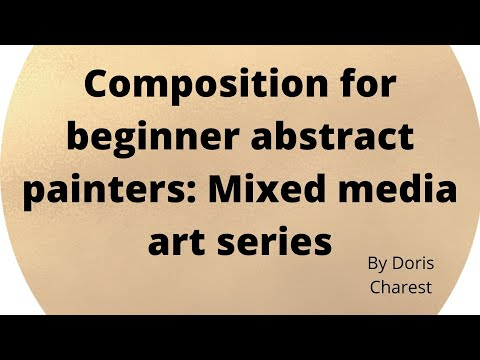 Composition for beginner abstract painters