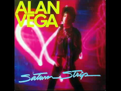 ALAN VEGA - SATURN STRIP (1983) VINYL