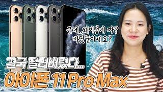 어쩔 수 없는 찐앱등이의 아이폰11 Pro Max 개봉기🤗 [아이폰11 프로맥스 스펙, 디자인, 구성품, 카메라]