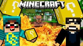 Minecraft: LUCKY BLOCK CRAZY WALLS w/ Ssundee!
