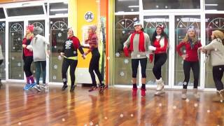 BASSHUNTER JINGLE BELLS FITNESS DANCE DANA