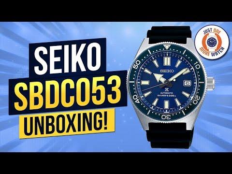 The Modern 62MAS? Seiko SBDC/SPB053 Unboxing & Review!