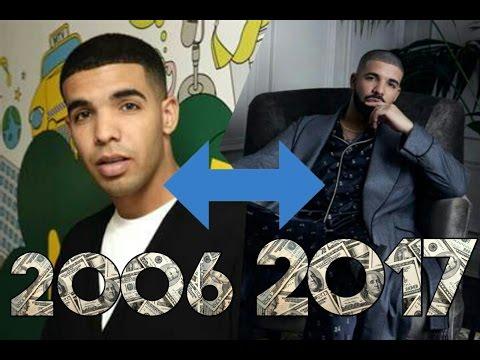 The Evolution Of Drake(2006 - 2017)